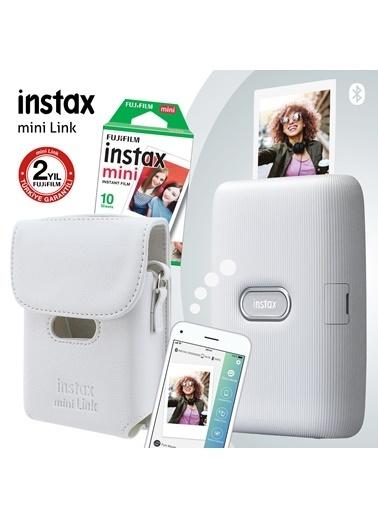 Fujifilm Instax mini Link Beyaz Akıllı Yazıcı ve Çantalı Hediye Seti 3 Beyaz